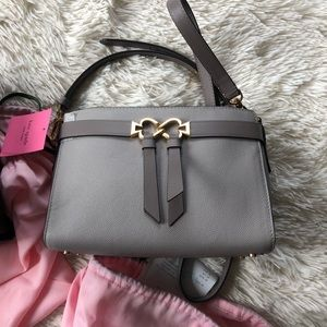 Kate Spade True Taupe Toujours Crossbody Purse